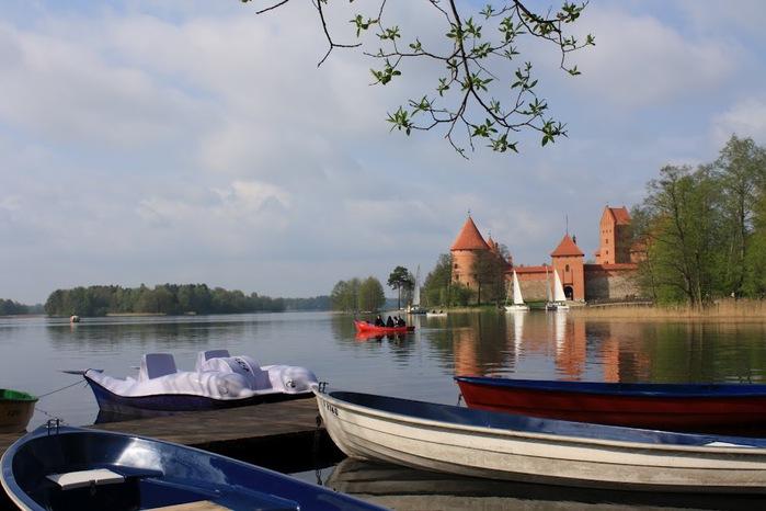 Тракайский замок недалеко от Вильнюса 11729