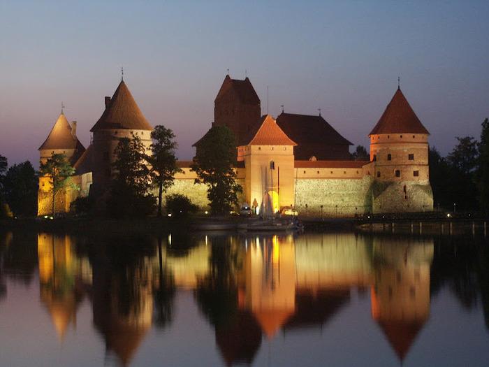 Тракайский замок недалеко от Вильнюса 40626