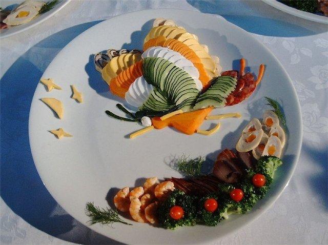 Оформление кулинарных блюд