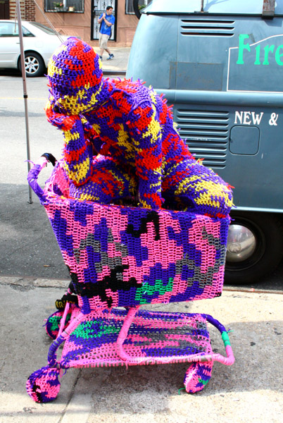 Невероятные работы уличной ткачихи Агаты Олексиак!