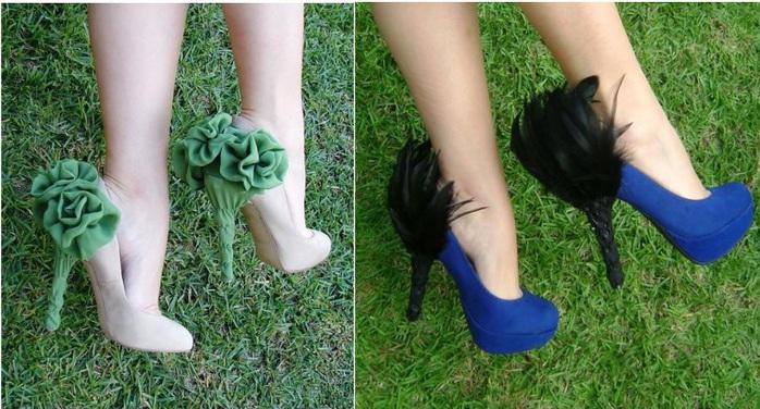 Как переделать старые туфли своими руками 19