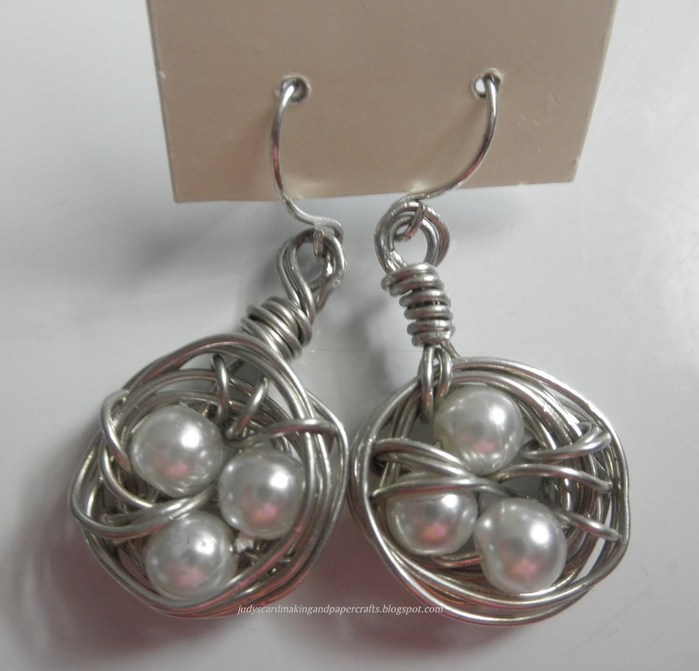 Wire bird nest earring 1 (700x671, 242Kb)
