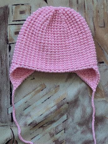Детская шапочка с простой