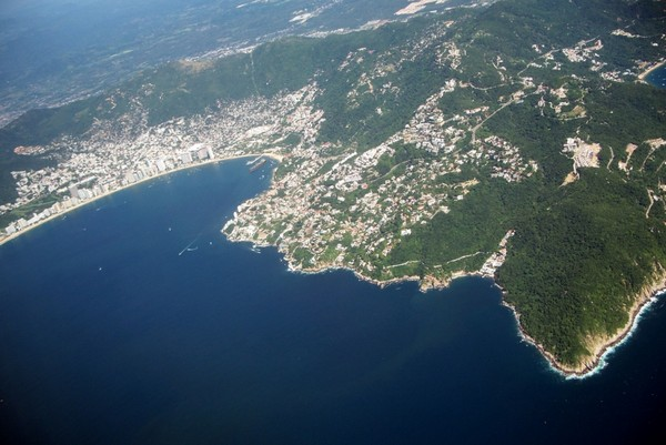 Необычные и красивые города на скалах - Акапулько 3 (600x401, 68Kb)