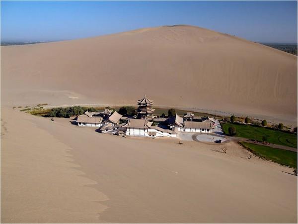 Старинный оазис посреди пустыни Такла-Макан  15 (600x450, 45Kb)