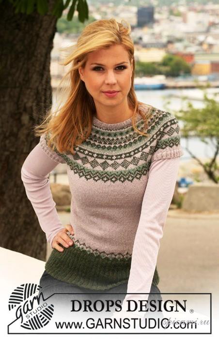 пуловер drops (452x700, 88Kb)