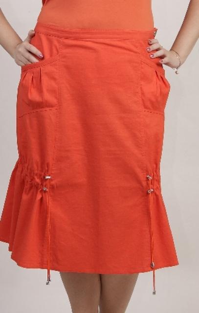 Расчет и построение выкройки прямой юбки