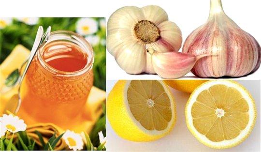 мед лимон и чеснок (540x314, 36Kb)