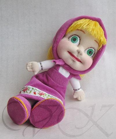 Как сшить куклу машу