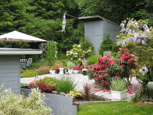 Красивое оформление сада своими руками - Поделки, делаем самостоятельно