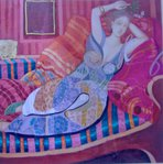Превью 8 odalisque with lilies in the couch (695x700, 85Kb)