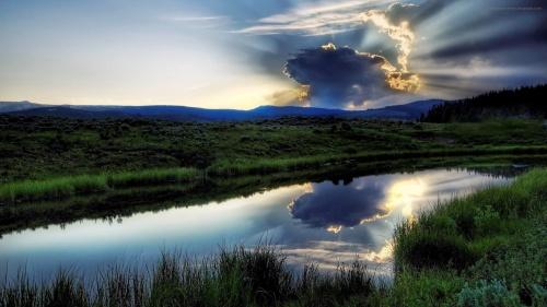 Немеркнущая красота нашей природы!