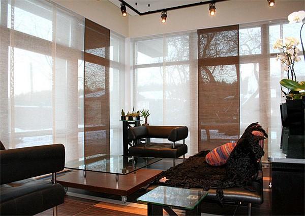 Стильные японские шторы в интерьере вашего дома 2 (600x424, 80Kb)