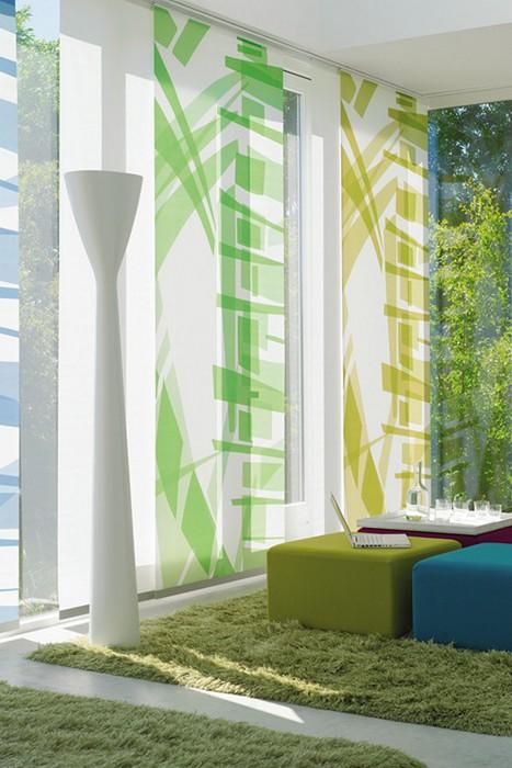 Стильные японские шторы в интерьере вашего дома 5 (467x700, 86Kb)