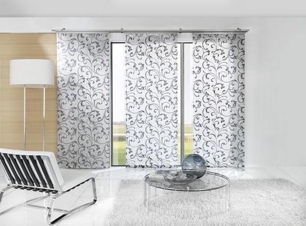Стильные японские шторы в интерьере вашего дома 17 (600x443, 96Kb)