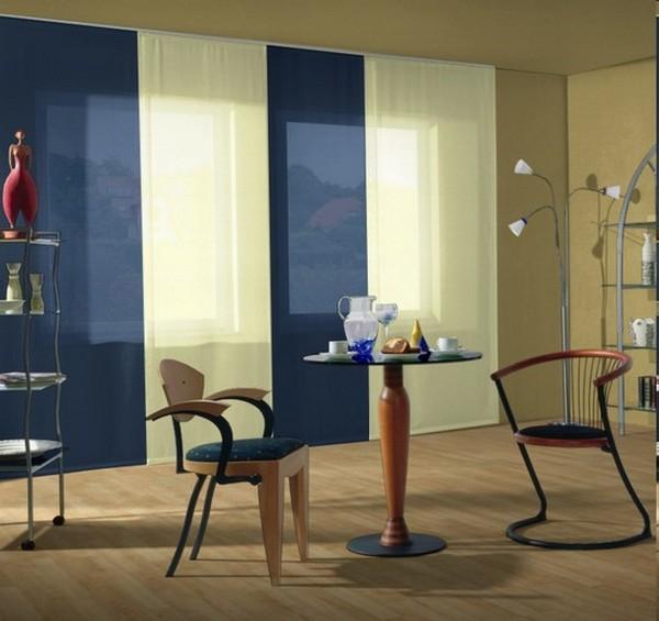 Стильные японские шторы в интерьере вашего дома 24 (600x565, 59Kb)