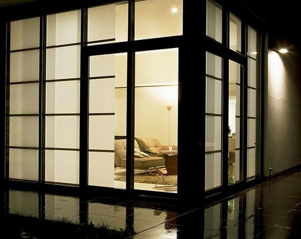 Стильные японские шторы в интерьере вашего дома 26 (600x478, 63Kb)