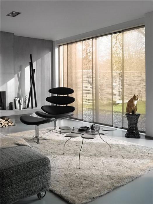 Стильные японские шторы в интерьере вашего дома 28 (525x700, 92Kb)