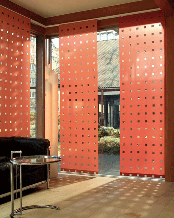 Стильные японские шторы в интерьере вашего дома 35 (560x700, 109Kb)