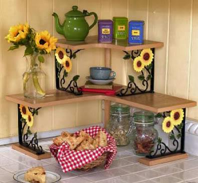 Чем украсить кухню своими руками фото