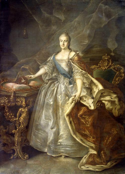 Вторая великая исторический портрет