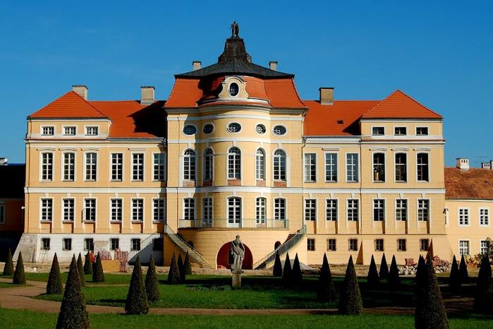 Дворец Рачиньских в селении Рогалин 53245