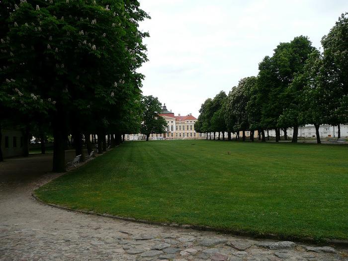 Дворец Рачиньских в селении Рогалин 68530