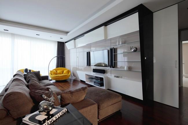 Фото интерьера московской квартиры 3 (650x433, 56Kb)