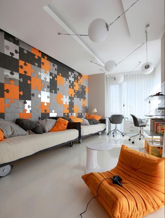 Фото интерьера московской квартиры 18 (529x700, 80Kb)