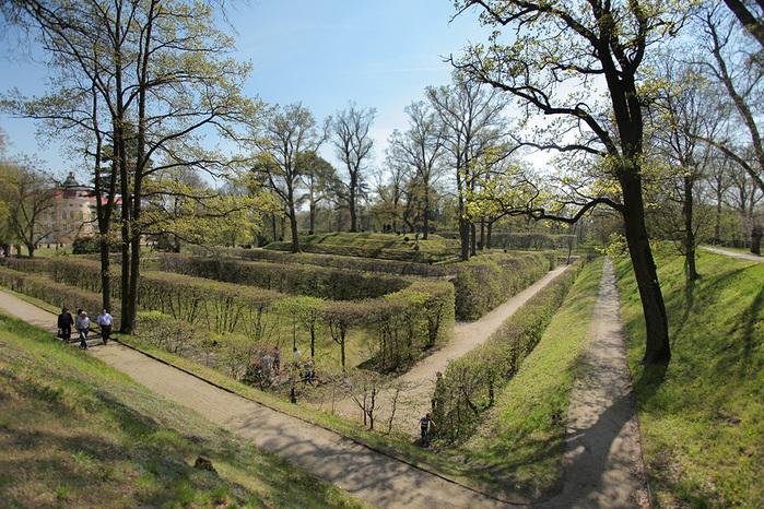 Дворец Рачиньских в селении Рогалин 66835