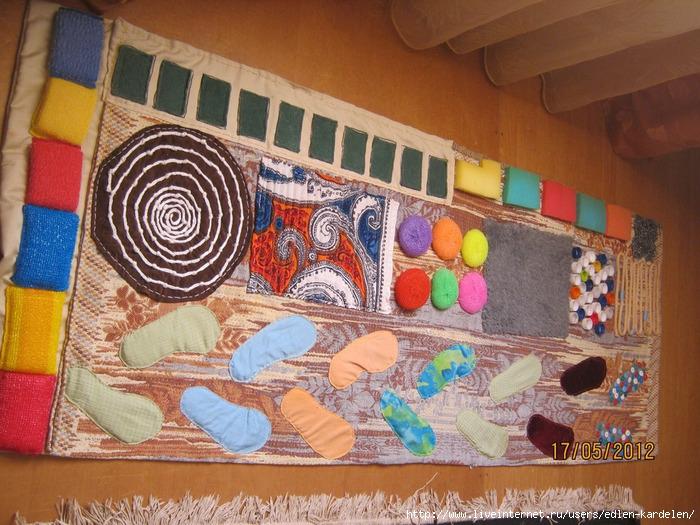 Развивающий коврик дорожка своими руками 44