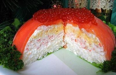 Рыбный закусочный торт (400x258, 51Kb)