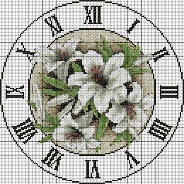 Часы - бесплатные схемы
