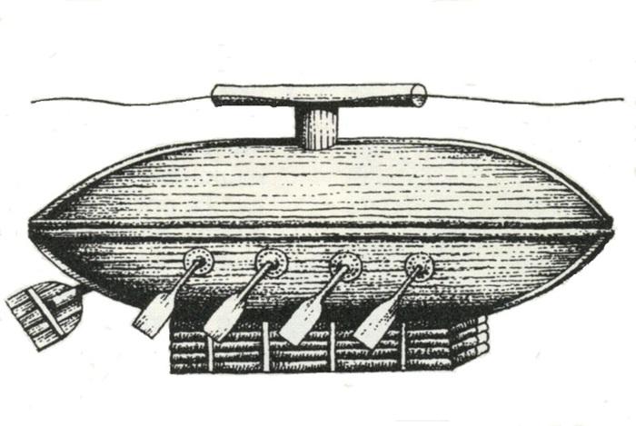 украинские подводные лодки 16 века