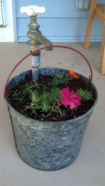 vintage-bucket-and-faucet-planter-container-gardening-flowers-gardening (2) (335x594, 156Kb)