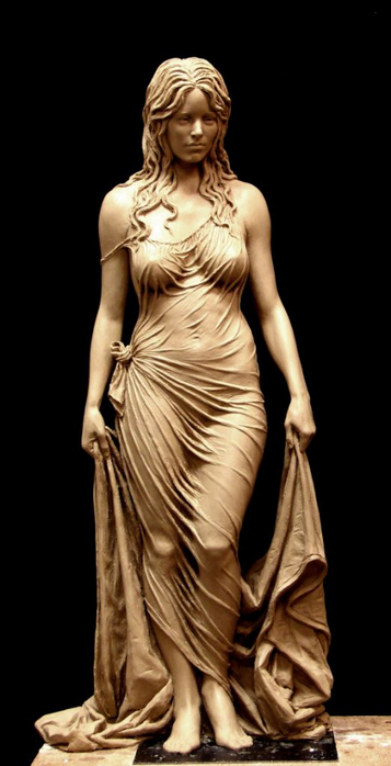 Скульптура матери царя Соломона - Вирсавии. Автор Бенджамин Виктор10 (357x700, 176Kb)