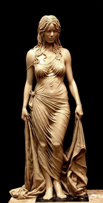 Скульптура матери царя Соломона - Вирсавии. Автор Бенджамин Виктор5 (357x700, 176Kb)