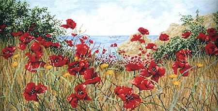 Anchor PC47989 Clifftop Poppies (450x230, 191Kb)