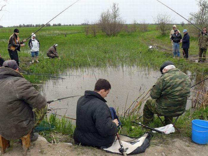 ролик едем на рыбалку