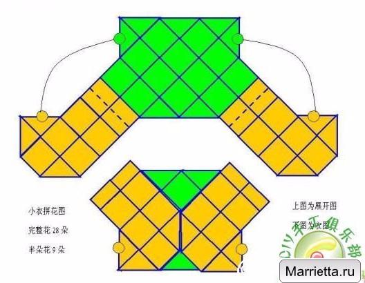 Летний жакет болеро крючком. Схема (4) (528x410, 207Kb)