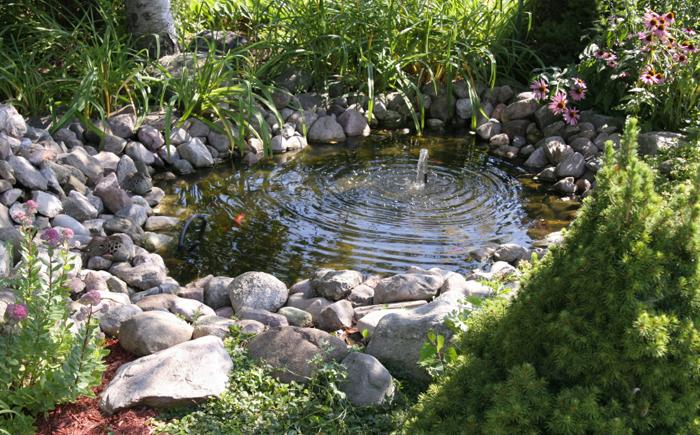 декоративный пруд на приусадебном участке 10 (700x435, 609Kb)
