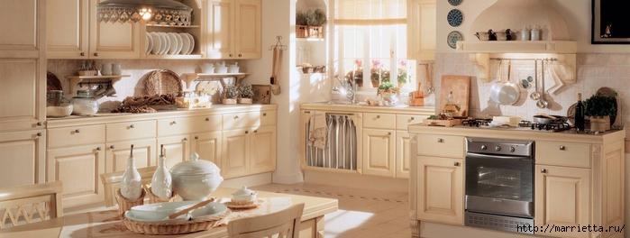 Кухня в классическом стиле (2) (700x264, 156Kb)