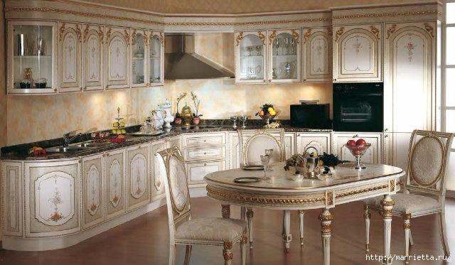 Кухня в классическом стиле (4) (640x373, 162Kb)