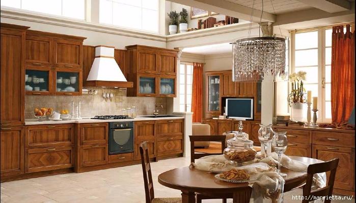 Кухня в классическом стиле (7) (700x398, 240Kb)