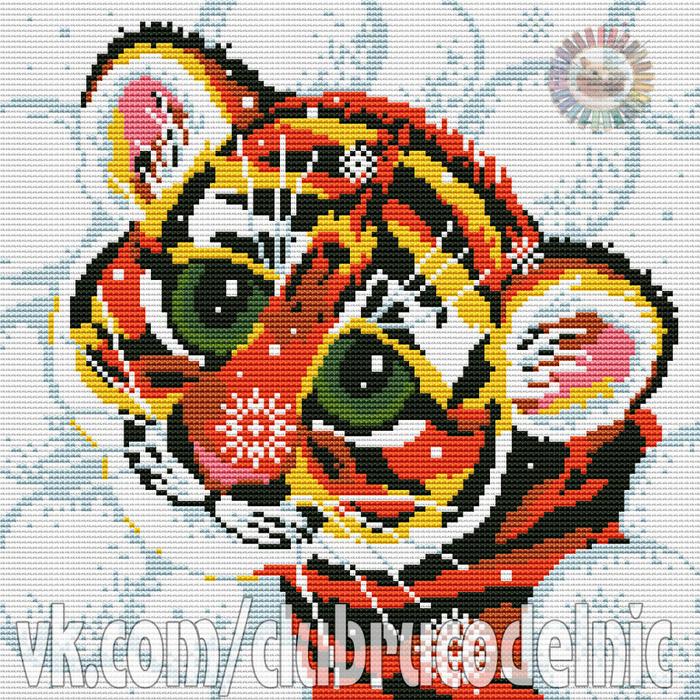 Tiger Cub (700x700, 792Kb)