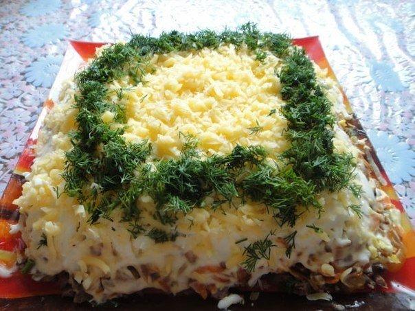 салат с куриной печенью (604x453, 305Kb)