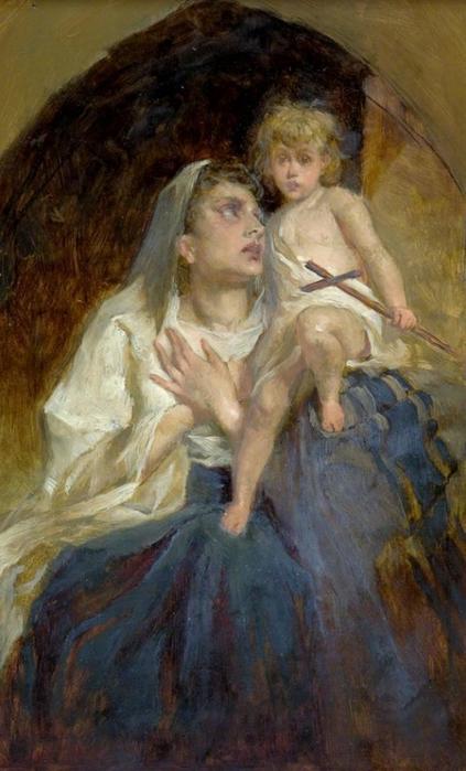 Женские и детские образы в творчестве