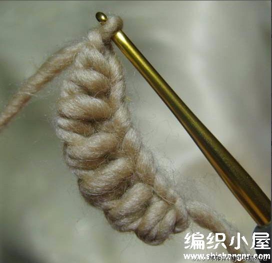 Как связать листик крючком (13) (544x527, 125Kb)