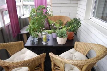 Интерьер балкона и лоджии - самое интересное в блогах.
