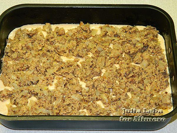 Рыбный пирог из консервов с майонезом рецепт с